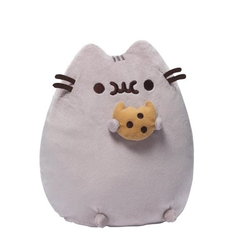 pusheen plush toy with cookie soft toys fun give