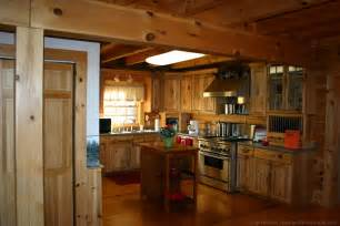 how to choose kitchen cabinets for your log home fun