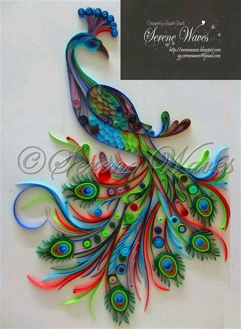 Crafts With Quilling Paper - best 25 quilling craft ideas on diy quilling