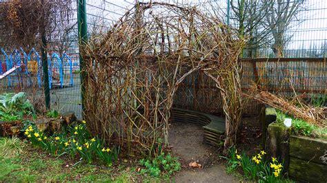 diy bio tecture build   backyard living willow