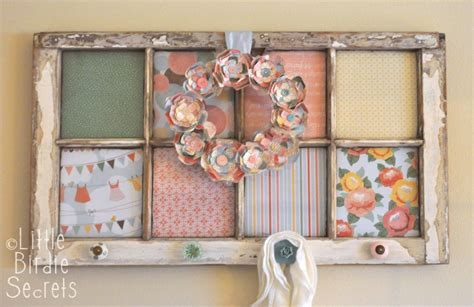 How To Decorate Window Frames by 30 Diy Craft Projects Using Vintage Windows Page 2