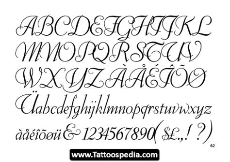 cursive tattoo letters cursive fonts tattoospedia