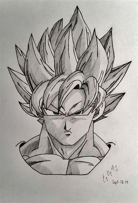Imagenes De Goku Para Dibujar A Lapiz Completos | mi primer post dibujo de goku a grafito im 225 genes