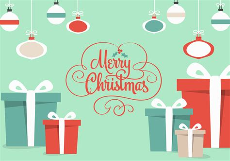 free christmas gifts vector download free vector art