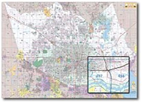 houston key map grid houston wall maps