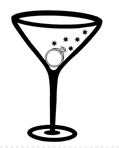 margarita clipart black and white martini margarita cocktail glass clip bachelorette