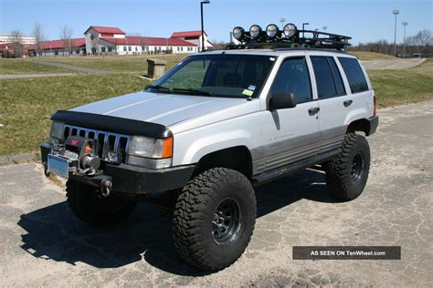 jeep grand cherokee off road wheels 1996 jeep grand cherokee laredo lifted with atlas 2 off