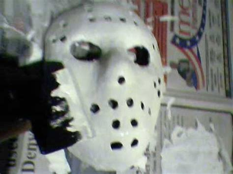 How To Make A Jason Mask Out Of Paper - how to make a jason voorhees mask the easiest way