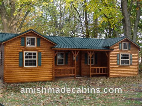 Mother In Law Cottage Kits by Amish Made Cabins Amish Made Cabins Cabin Kits Log