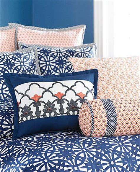 navy blue and coral bedroom navy blue coral and white bedding bedroom pinterest