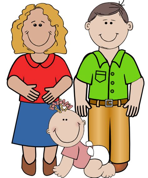 family clipart smiling family clip at clker vector clip