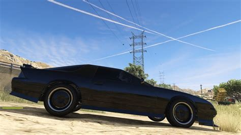mod gta 5 kitt gta 5 pc mods knight rider kitt texture mod youtube
