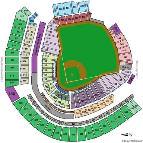 cincinnati reds seating great american park tickets and schedule