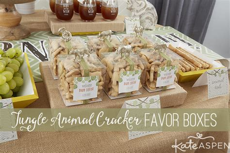 Jungle Theme Baby Shower Favors by Diy Jungle Themed Favors