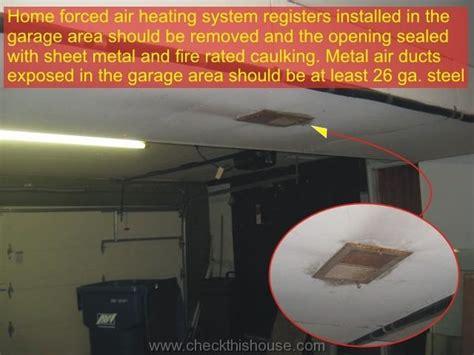 Attached Garage Firewall   Garage To Room Entrance