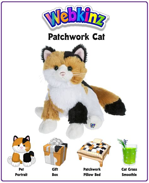 The Patchwork Cat - webkinz patchwork cat unboxing wkn webkinz newz