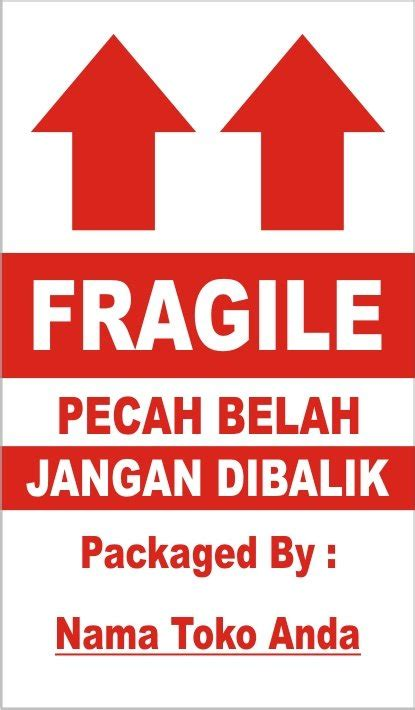 Stiker Fragile Shop Sticker Fragile Bisa Tambah Nama Toko gambar miniedu simbol kemasan barang gambar 11 lambang fragile di rebanas rebanas