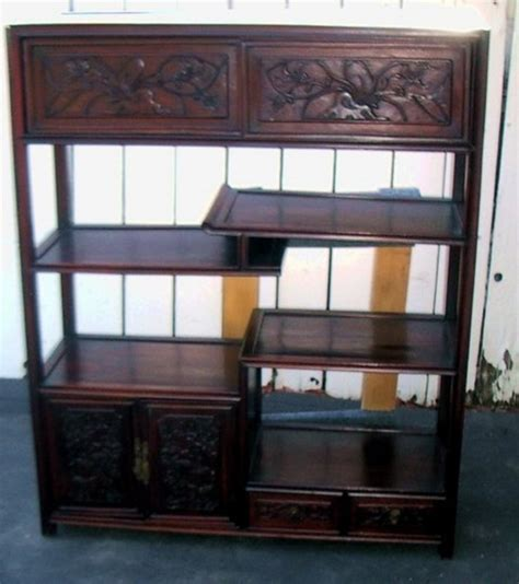 rosewood china cabinet for sale chinese rosewood display cabinet for sale antiques com