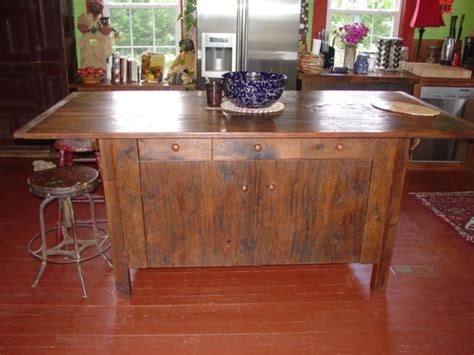 farm table kitchen island primitivefolks rustic pine farm tables country harvest