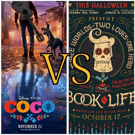 coco the book of life coco vs the book of life what is your favorite movie