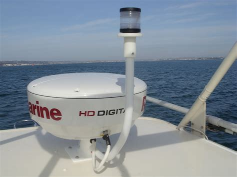 boat radar images best radome mount for a small cc the hull truth