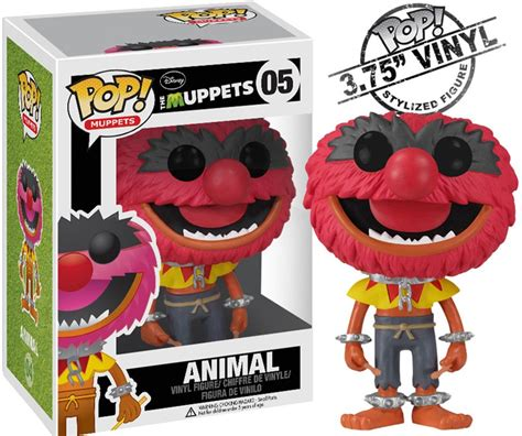 Animal Pop By muppets series popvinyls