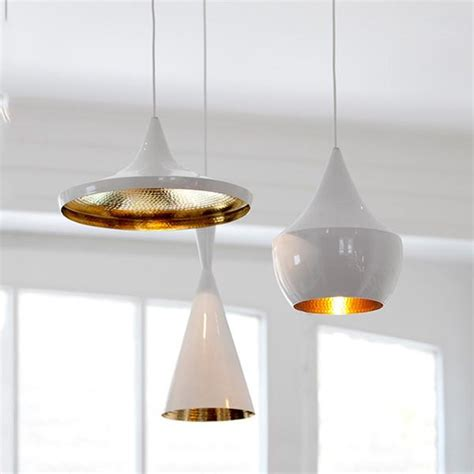 Modern White Pendant Lighting Tom Dixon Replica Modern Beat White Pendant Light Tudo And Co