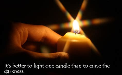 here comes a candle to light you to bed to light or to curse to know we are not alone