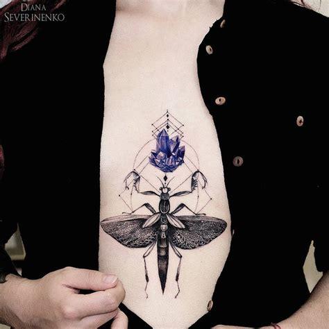 amethyst tattoo bug tattoos ideas