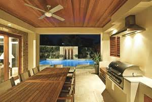the perfect outdoors entertainment area completehome