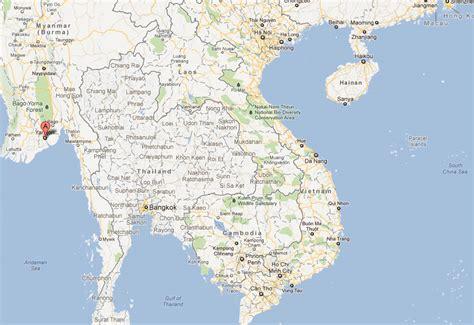 yangon map  yangon satellite image