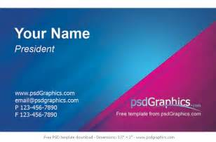 business card design templates free modern business card psdgraphics