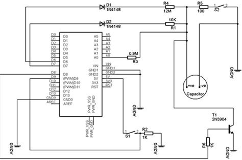 how to build a capacitor meter arduino capacitance meter make