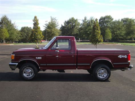 ford f150 single cab short bed for sale 1990 ford f150 reg cab short bed xlt 5 0 automatic all