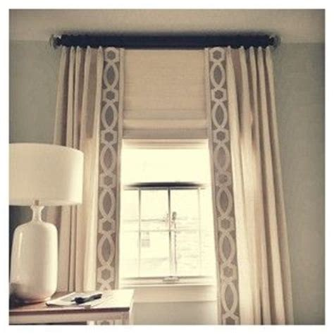 curtain trim tape linen panels with tape trim drapery panels pinterest