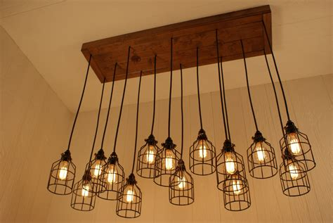 cage chandelier lighting cage light chandelier cage lighting by bornagainwoodworks