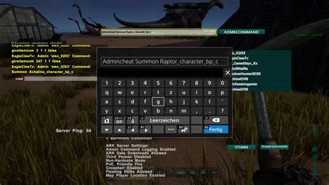 ark survival pc ps4 xbox one wiki cheats guide unofficial books ark survival evolved ps4 cheats admin command f 252 r raptor