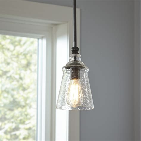 Small Pendant Lights For Kitchen Birch Sargent Mini Pendant Reviews Wayfair