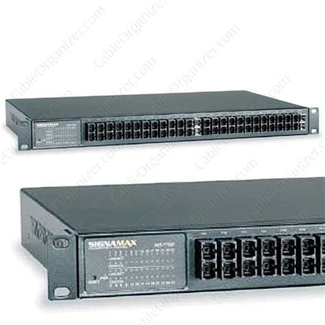 Switch Fiber Optic 24 Port Signamax Managed Fast Ethernet Fiber Switches Cableorganizer