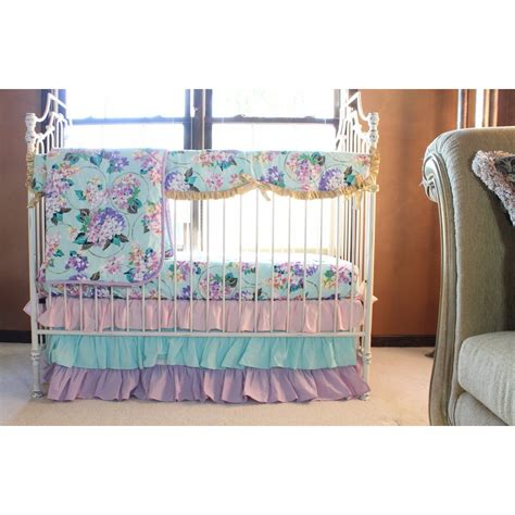 Pastel Crib Bedding Sets Cordelia S Baby Bedding Floral Pastel Pink Blue Lavender And Boutique