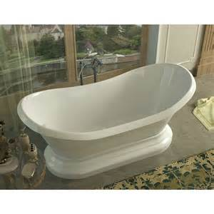 grace 34 x 71 oval freestanding soaker bathtub