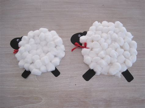 Paper Plate Sheep Craft - arts and crafts how to make a sheep