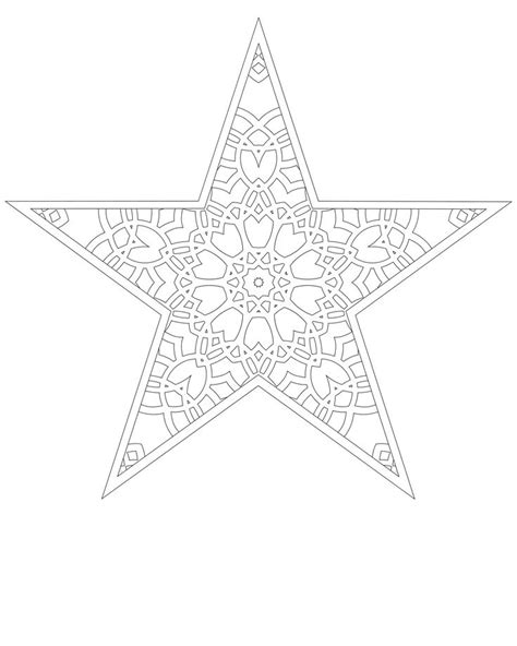 star mandala coloring pages this would make a beautiful holiday star dont eat the