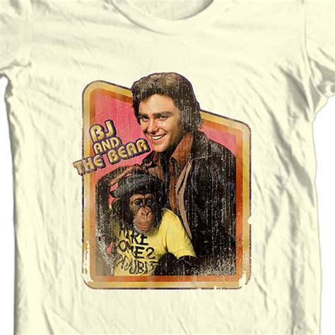 bj and the t shirt keep on truckin 1970 s retro tv show cotton nbc172 and tv t