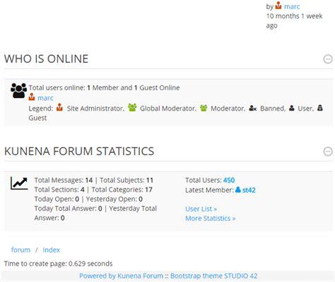 bootstrap themes free forum free boostrap theme for kunena studio 42 joomla application