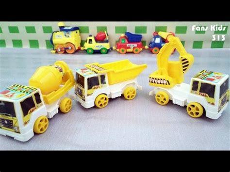 Mainan Anak Truk Keruk Mb152 vidio excavator mainan mainan oliv