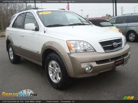 Kia 4x4 Sorento 2006 Kia Sorento Ex 4x4 Clear White Beige Photo 8