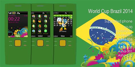 love themes nokia asha 206 world cup brazil theme nokia x2 00 240x320 s406th asha