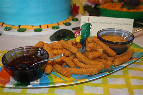 moana maui boat snack moana luau birthday party maui boat snack heihei
