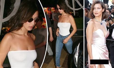 Wardrobe Malfunction Pictures by Hadid Suffers Another Embarrassing Wardrobe